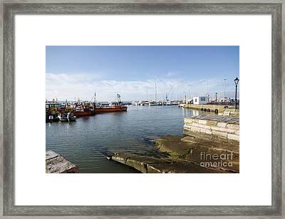 Poole Harbour Framed Print by Nichola Denny