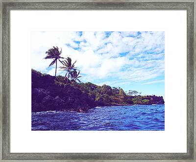 Pools Of Oheo Framed Print by JAMART Photography