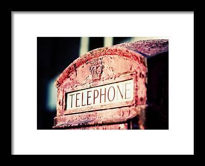 Telephone Framed Prints