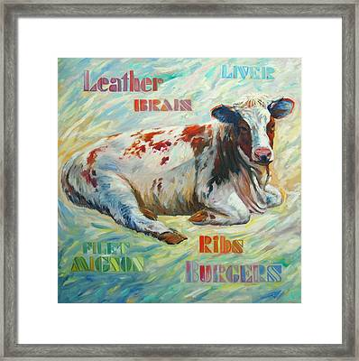 Poor Miss Bessie Framed Print by Rick Nederlof