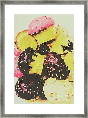 Pop Art Bake Framed Print