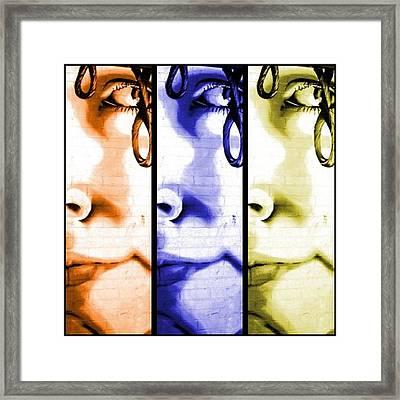 Pop Art Framed Print by Cat Jackson