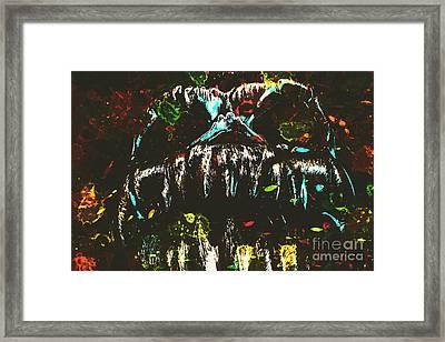 Pop Art Madness Framed Print