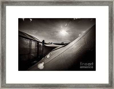 Pop Brixton Has A New Roof Framed Print