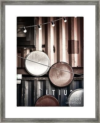 Pop Brixton - Industrial Style Framed Print
