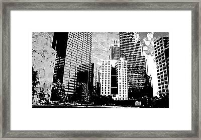 Pop City 27 Framed Print by Melissa Smith