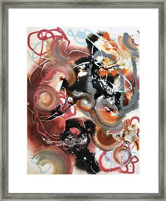 Pop Fluid No. 2 Framed Print by Sumit Mehndiratta