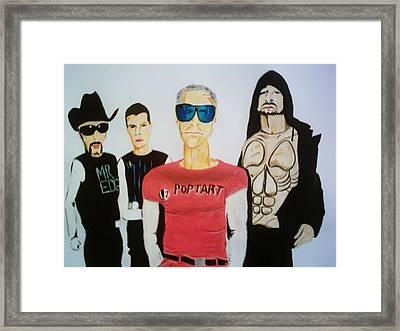 Pop Tart Framed Print by Colin O neill