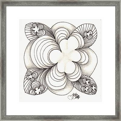 Popcloud Blossom Framed Print by Jan Steinle