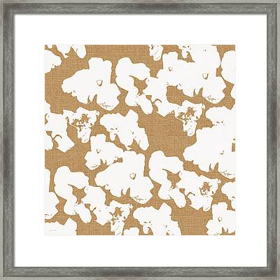 Popcorn- Art By Linda Woods Framed Print by Linda Woods