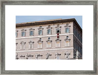 Pope Benedict Xvi Framed Print by Andy Smy