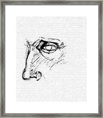 Pope Framed Print by B and C Art Shop