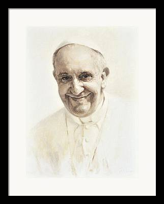 Saint Hope Paintings Framed Prints