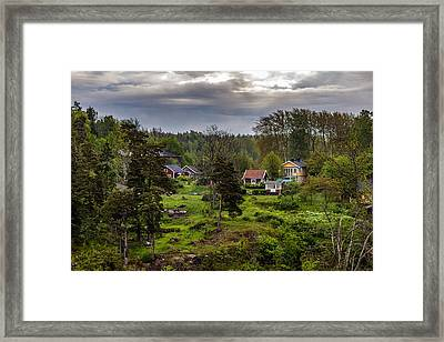 Popilation Growth Framed Print by Capt Gerry Hare