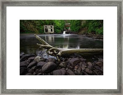 Poplar River Lutsen Framed Print by Jakub Sisak