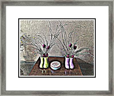 Poppies Decor Framed Print