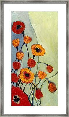 Poppies Framed Print by Jennifer Lommers