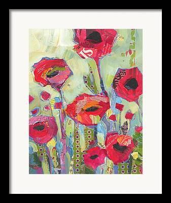 Mix Flowers Framed Prints