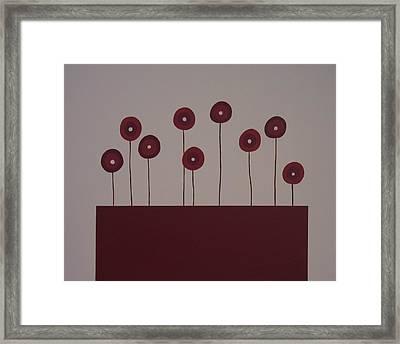 Poppies Framed Print by Sandy Bostelman
