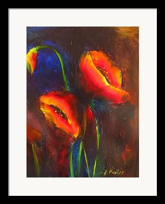 Impresionisn Framed Prints