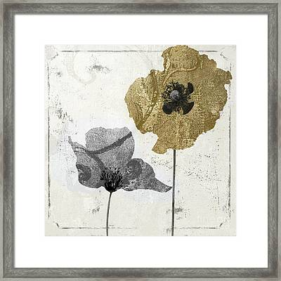 Poppyville II Framed Print by Mindy Sommers