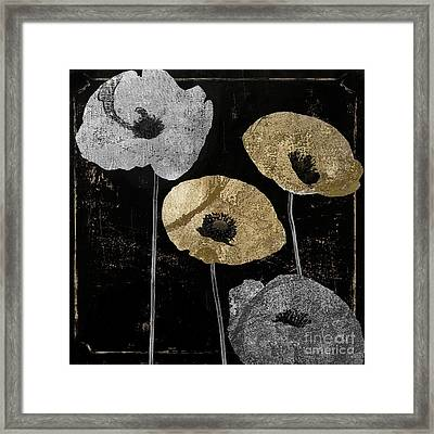 Poppyville Framed Print by Mindy Sommers