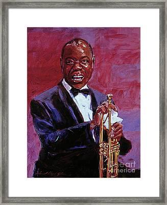 Pops Armstrong Framed Print by David Lloyd Glover