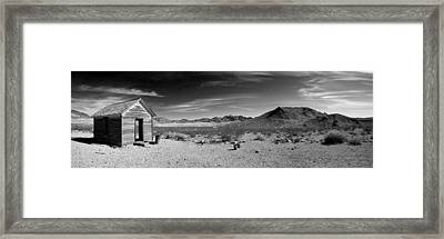 Population Zero Framed Print by Mike Irwin