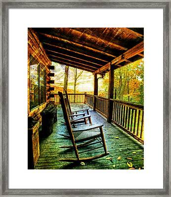 Porch Front Framed Print