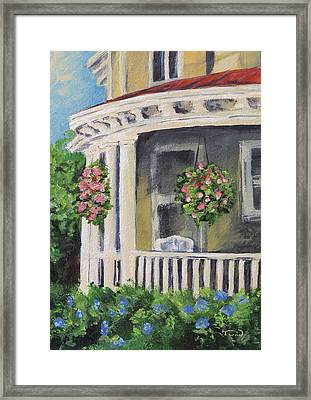 Porch Framed Print by Torrie Smiley