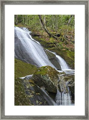 Porcupine Brook - Kinsman Notch New Hampshire Usa Framed Print by Erin Paul Donovan