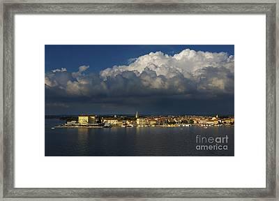 Porec Framed Print by Svetlana Sewell