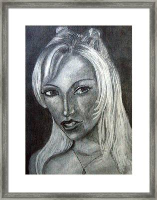 Porn Star Framed Print by Jenni Walford