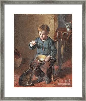 Porridge Framed Print