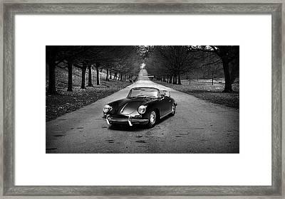 Porsche 356 1965 Framed Print by Mark Rogan