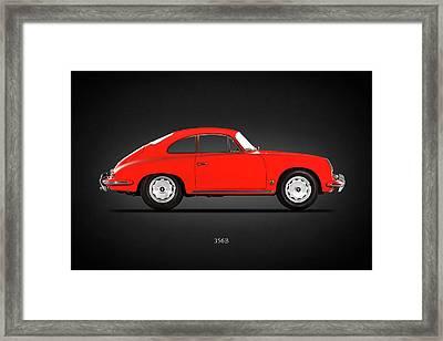 Porsche 356 B 1961 Framed Print by Mark Rogan