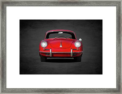 Porsche 356 Framed Print by Mark Rogan