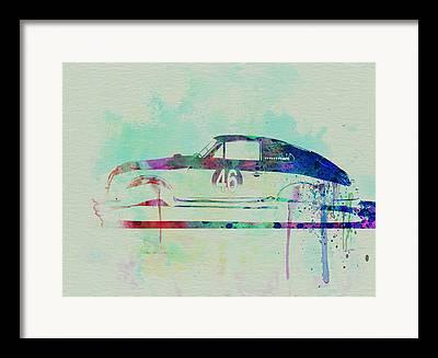 Classic Porsche 356 Framed Prints