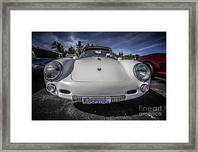 P 550 Spyder Sports Car Framed Print