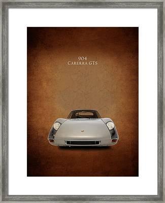 Porsche 904 Gts Framed Print by Mark Rogan