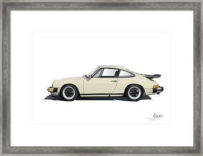 Porsche 911 Carrera Framed Print by Alain Jamar