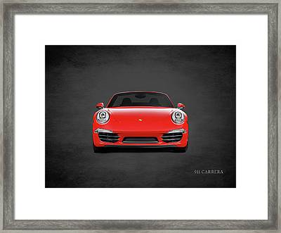 Porsche 911 Carrera Framed Print by Mark Rogan