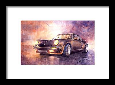 Classic Car Framed Prints