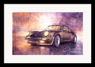 Porsche Framed Prints