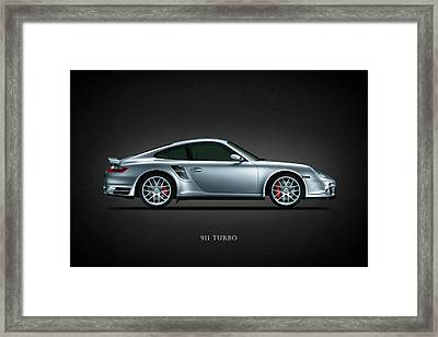 Porsche 911 Turbo Framed Print by Mark Rogan