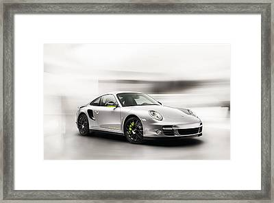 Porsche 911 Turbo Spyder Framed Print