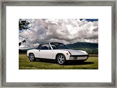 Porsche 914 Framed Print