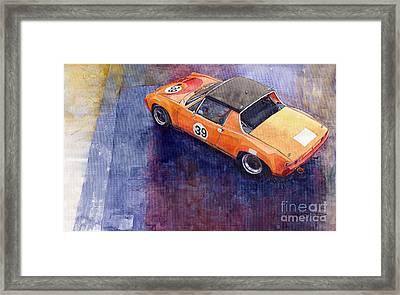 Porsche 914 Gt Framed Print by Yuriy  Shevchuk