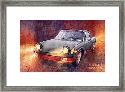 1970 Porsche 914 Framed Print by Yuriy  Shevchuk