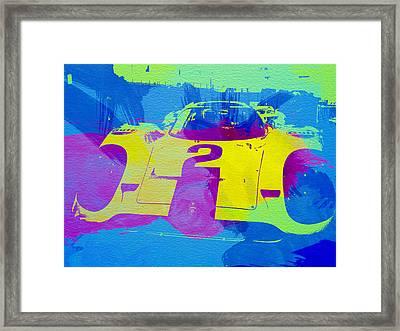 Porsche 917 Front End Framed Print by Naxart Studio